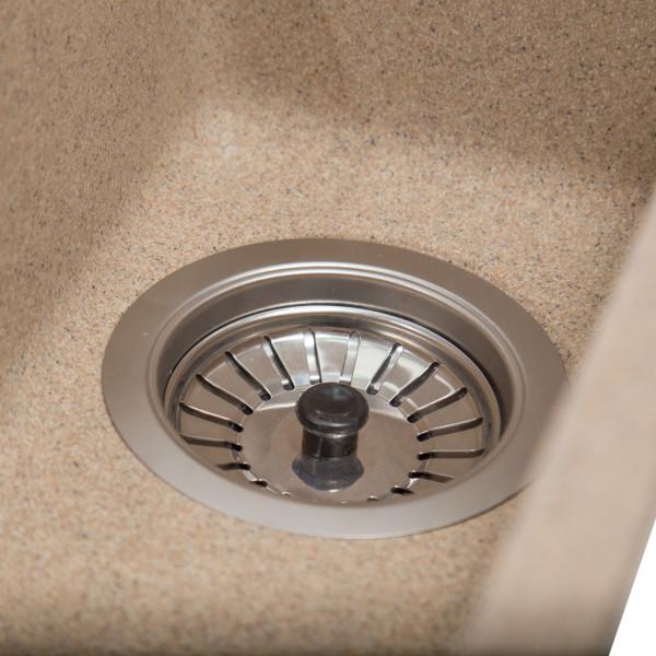 Кухонная мойка Galati Mira U-160 Piesok (301) песочная