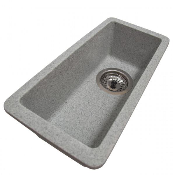 Кухонная мойка Galati Mira U-160 Seda (601) серый