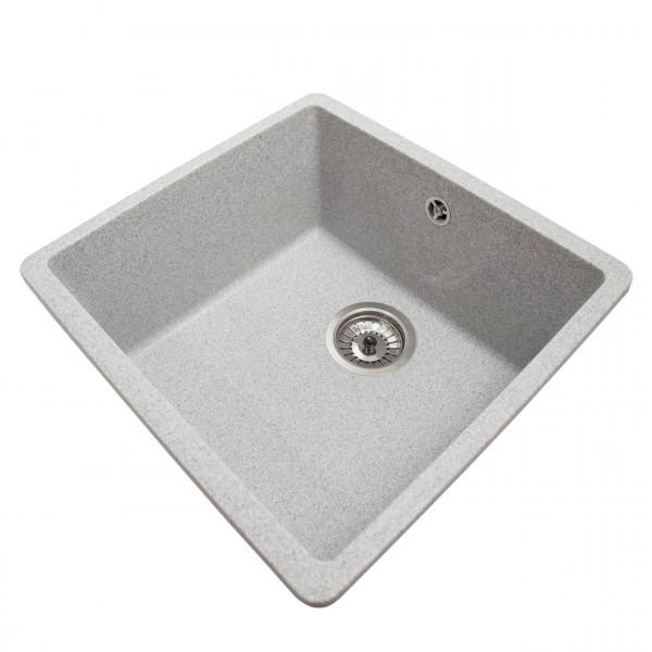 Кухонная мойка Galati Mira U-400 Seda (601) серый
