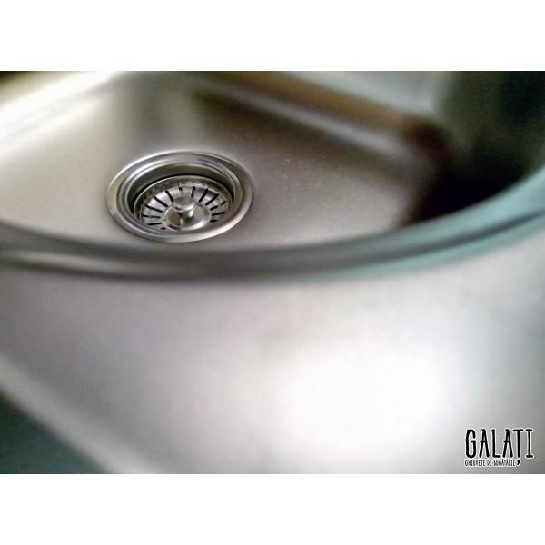 Кухонная мойка стальная Galati Anka Satin 7140