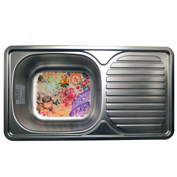 Кухонная мойка стальная Galati Anka Textura 7141