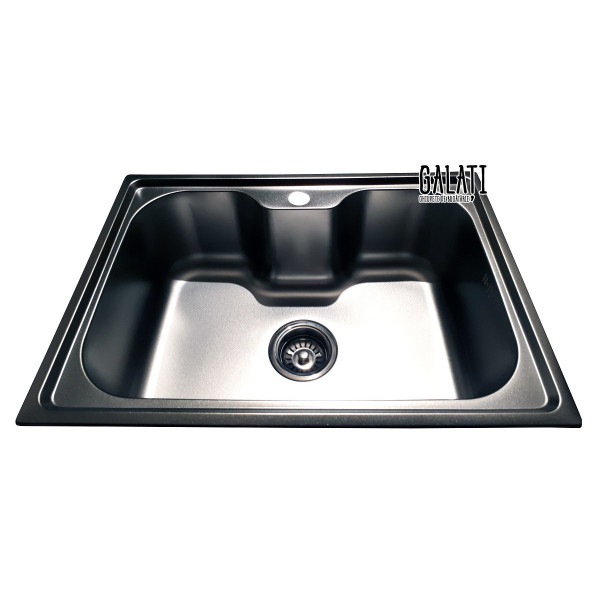 Кухонная мойка стальная Galati Bella Satin 9657