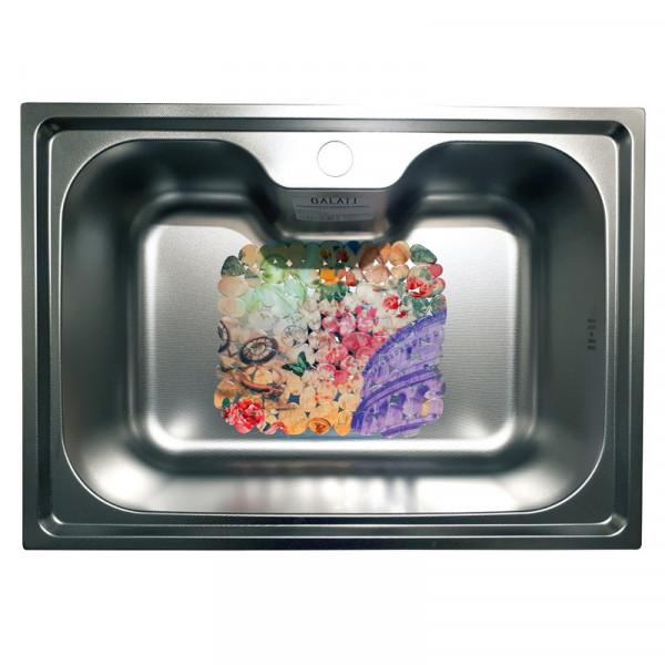 Кухонная мойка стальная Galati Bella Textura 9658