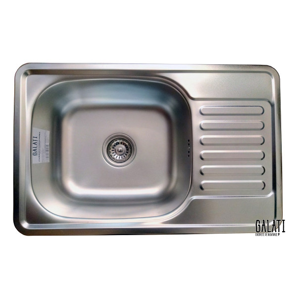 Кухонная мойка стальная Galati Bogna Satin 7893