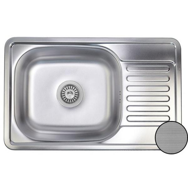 Кухонная мойка стальная Galati Bogna Textura 7894