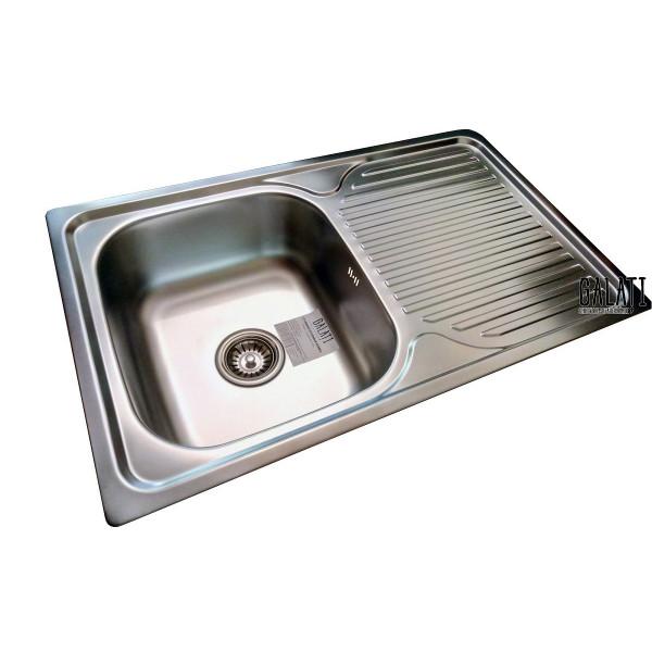 Кухонная мойка стальная Galati Constanta Nova Satin 8487