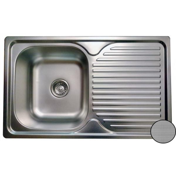 Кухонная мойка стальная Galati Constanta Nova Textura 8488
