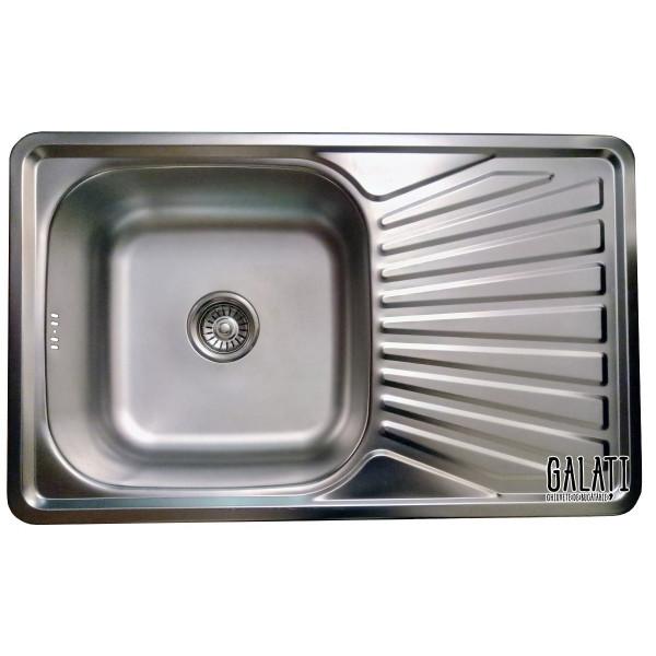 Кухонная мойка стальная Galati Constanta Satin 7138