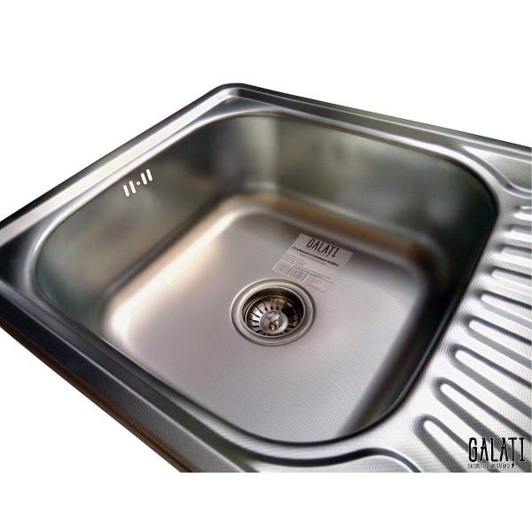 Кухонная мойка стальная Galati Constanta Textura 7139