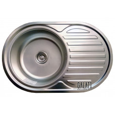 Кухонная мойка стальная Galati Dana Nova Textura 8486
