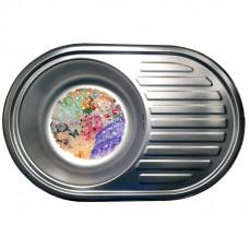 Кухонная мойка стальная Galati Dana Satin 7129