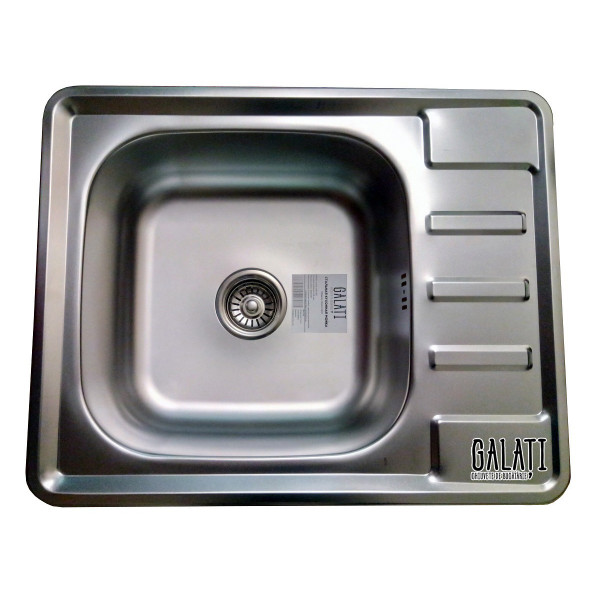 Кухонная мойка стальная Galati Douro Satin 7175
