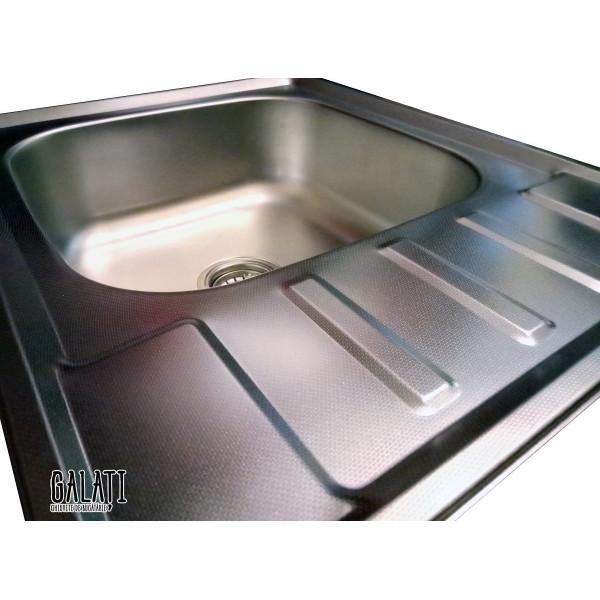 Кухонная мойка стальная Galati Douro Textura 7208