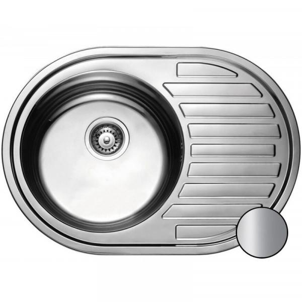 Кухонная мойка стальная Galati Eko Dana Satin 9684