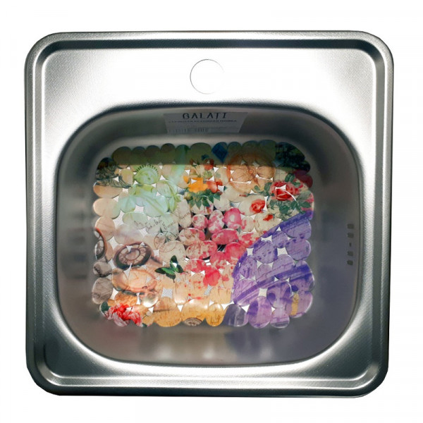 Кухонная мойка стальная Galati Eko Mala Textura 7126