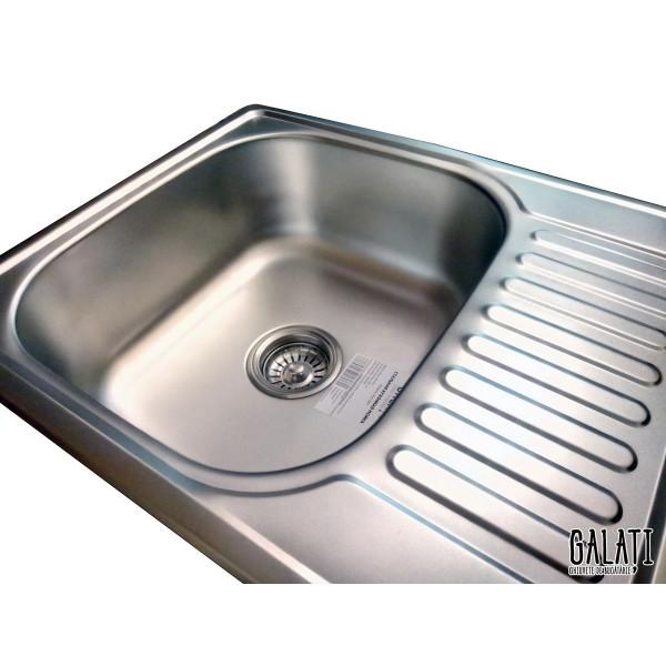 Кухонная мойка стальная Galati Eko Sims Satin 8658