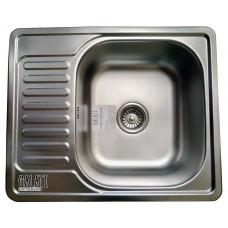 Кухонная мойка стальная Galati Eko Sims Textura 8659