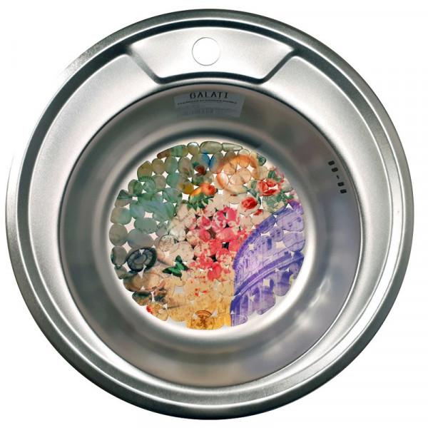 Кухонная мойка стальная Galati Eko Sorin Satin 5486