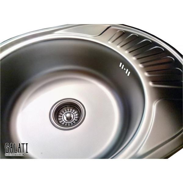 Кухонная мойка стальная Galati Eko Taleyta Textura 2232