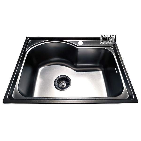 Кухонная мойка стальная Galati Elina Satin 9659