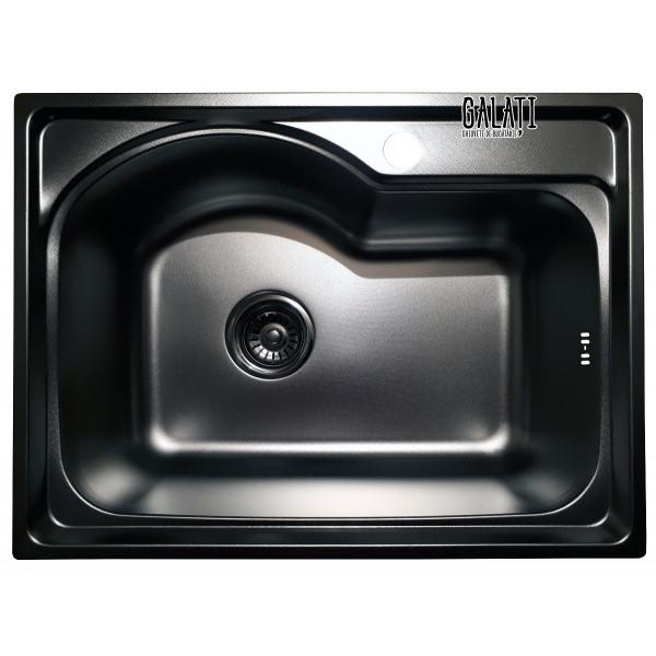 Кухонная мойка стальная Galati Elina Textura 9660
