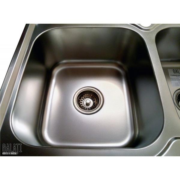 Кухонная мойка стальная Galati Fifika 2C Textura 4016