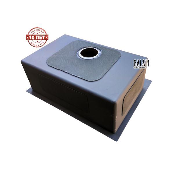 Кухонная мойка стальная GALATI HAND MADE Arta U-550 + колландер