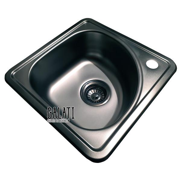 Кухонная мойка стальная Galati Mala Nova Satin 9661