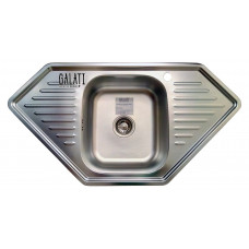 Кухонная мойка стальная Galati Meduza Textura 7137