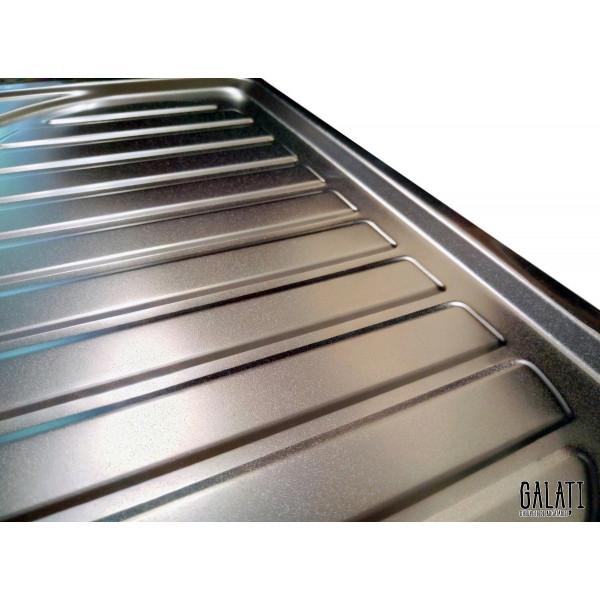 Кухонная мойка стальная Galati Mirela Satin 7135