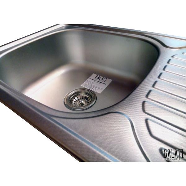 Кухонная мойка стальная Galati Mirela Textura 7136