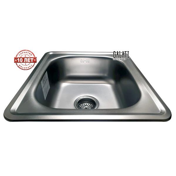 Кухонная мойка стальная Galati Nicola Satin нержавеющая сталь