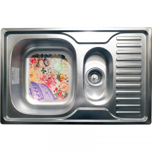 Кухонная мойка стальная Galati Petrika Textura нержавеющая сталь