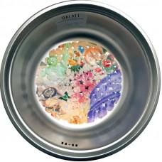 Кухонная мойка стальная Galati Pula Textura нержавеющая сталь