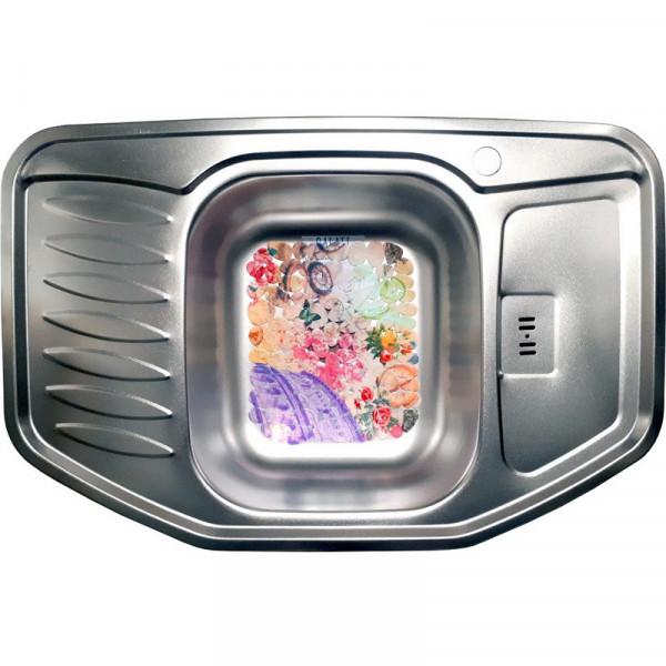 Кухонная мойка стальная Galati Rampa Satin нержавеющая сталь