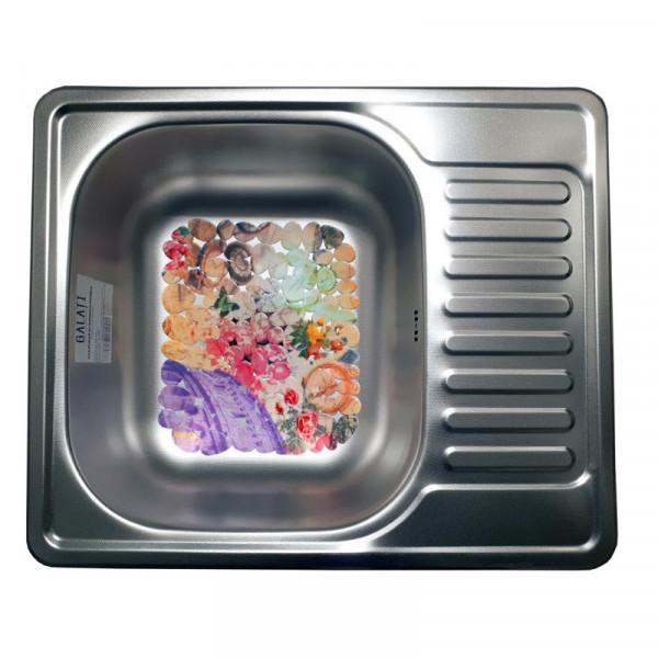 Кухонная мойка стальная Galati Sims Textura 7134