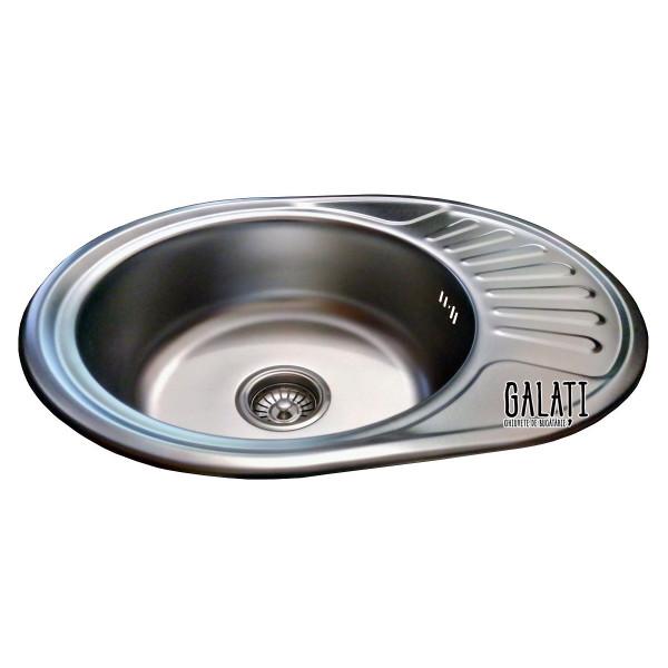 Кухонная мойка стальная Galati Taleyta Satin 7131