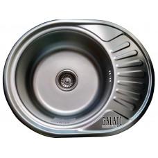Кухонная мойка стальная Galati Taleyta Textura 7132