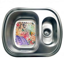 Кухонная мойка стальная Galati Vayorika 1.5C Textura 7898