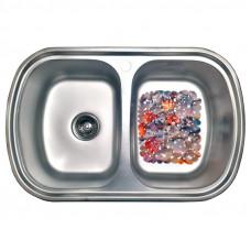 Кухонная мойка стальная Galati Vayorika 2C Textura 8490