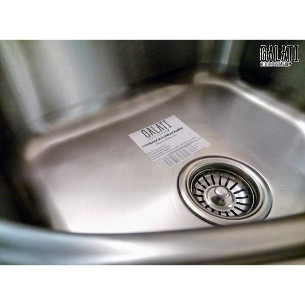 Кухонная мойка стальная Galati Vayorika Satin 7229