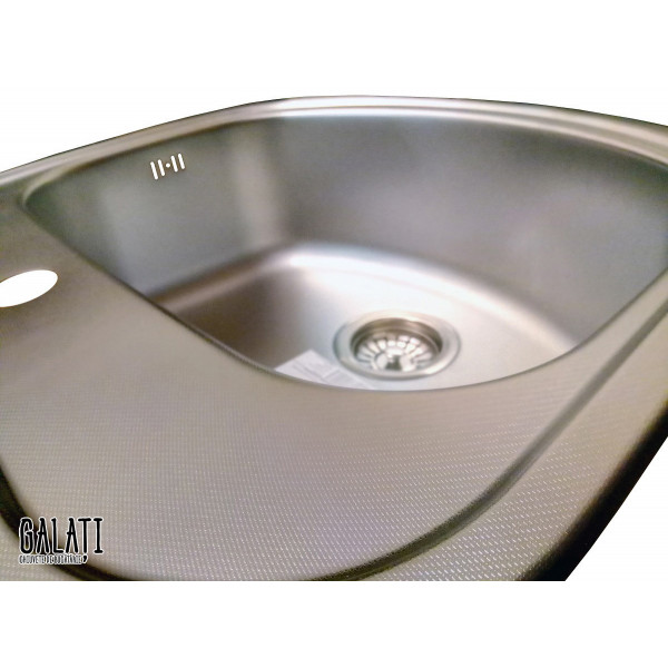 Кухонная мойка стальная Galati Vayorika Textura 7231