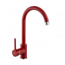 Смеситель для кухни красный Deante MILIN BEU R62M