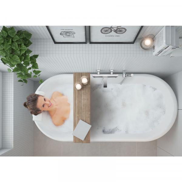 Смеситель для ванны и душа Deante Arnika BQA_010M хром