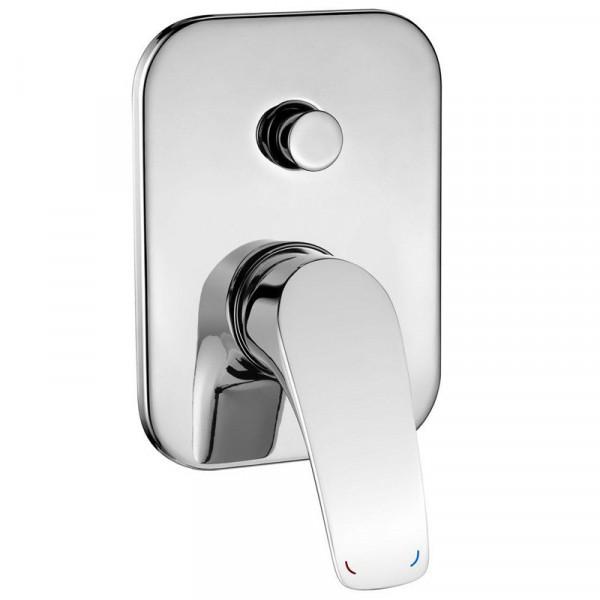 Смеситель скрытого монтажа ванна/душ с переключателем Deante Cynia BCY 044P