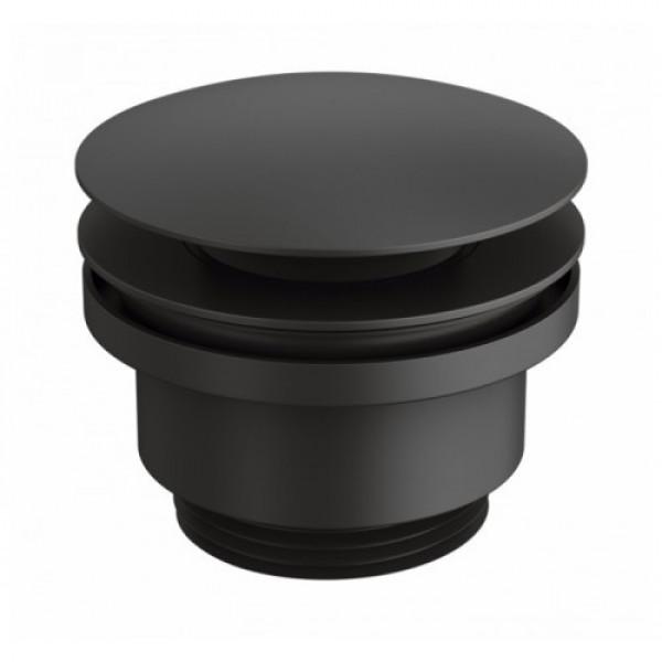 Донный клапан для раковины черный GENEBRE Luxe Black 1 ¼ 100211 41