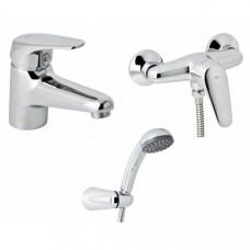 Набор смесителей для душа без штанги 3 в 1 Genebre Ge2 03GE2-shower ром