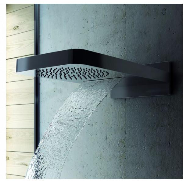 Верхний душ Genebre KENJO двойная функция: дождь и каскад 1643 45
