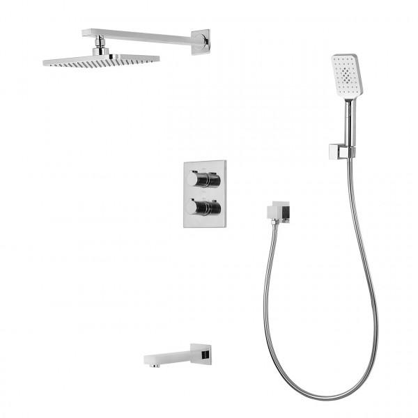 Душевая система скрытого монтажа с термостатом Imprese Centrum VR-51400