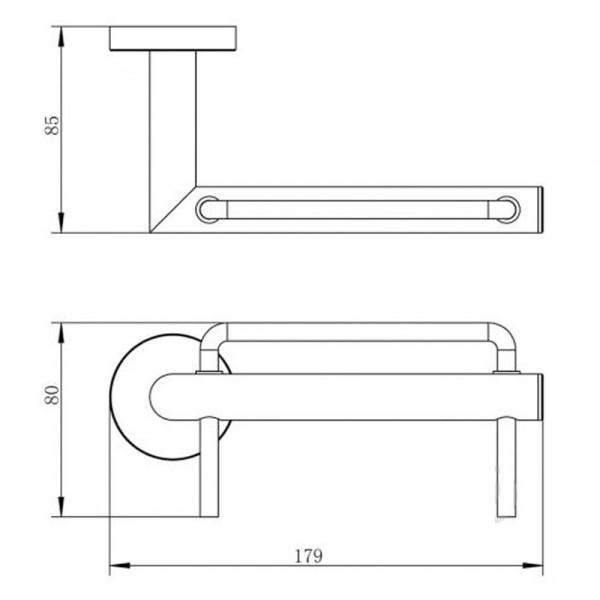 Держатель для туалетной Imprese Hranice 141100